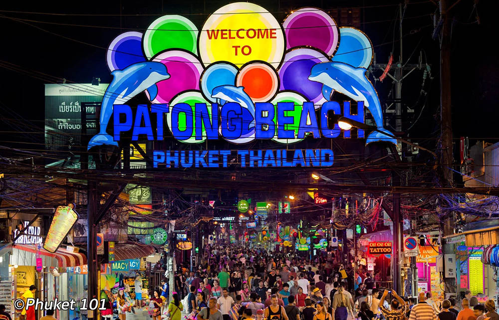 Bangla Road on a busy night