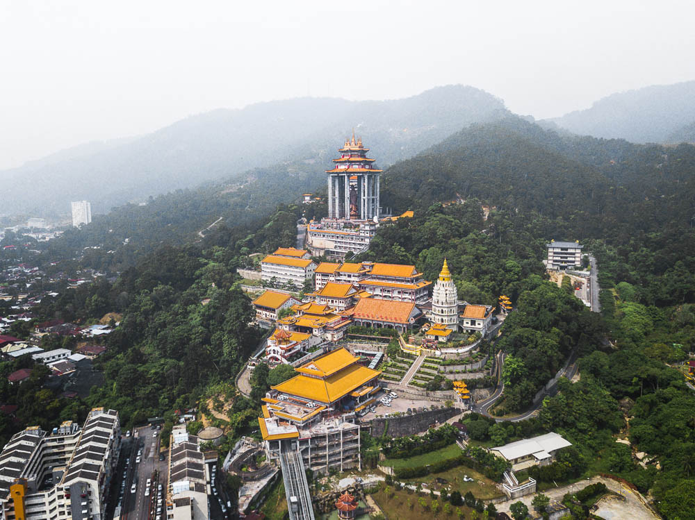 The Kek Lok Si Temple in Penang