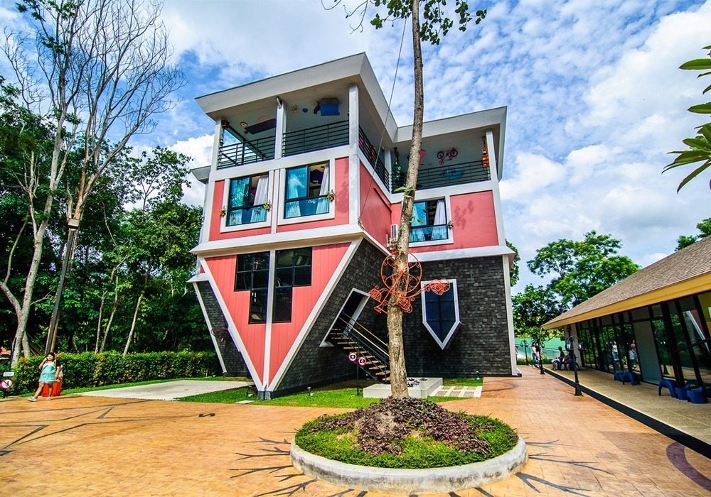 Upside down house in Phuket