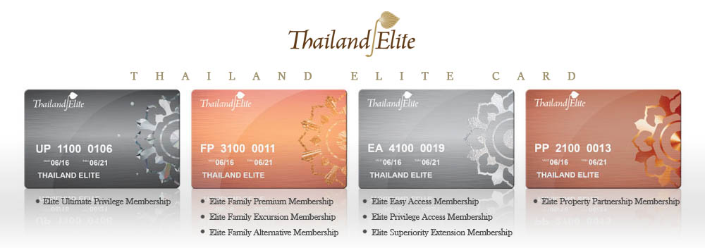 Different types of Thailand Elite Visa