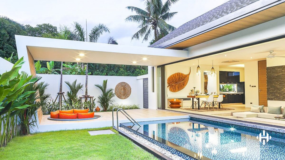 Modern Asian Villas in Nai Thon