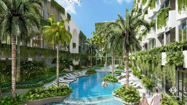 Eco-Friendly Resort Condos near Layan Beach