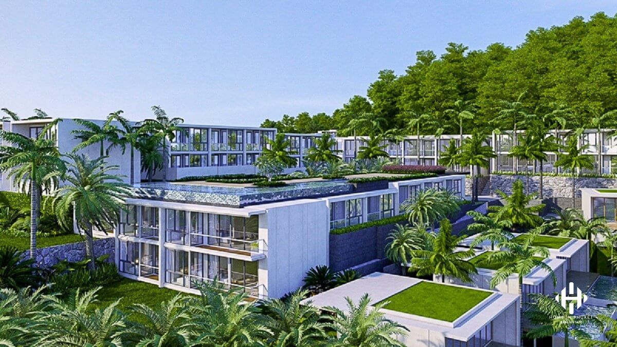 Branded Sea View Condos in Karon