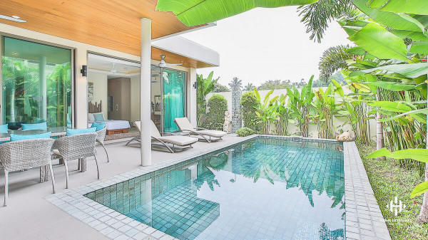 Tropical 3 Bedroom Villas in Rawai