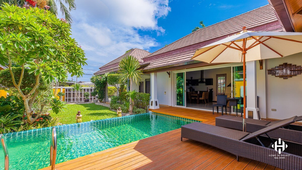 Thai Authentic 3  Beds Villa in Rawai