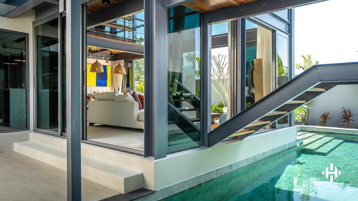 Eco-Modern Pool Villas in Cherngtalay
