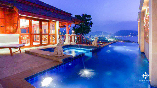 Sea View Pool Villa near Patong