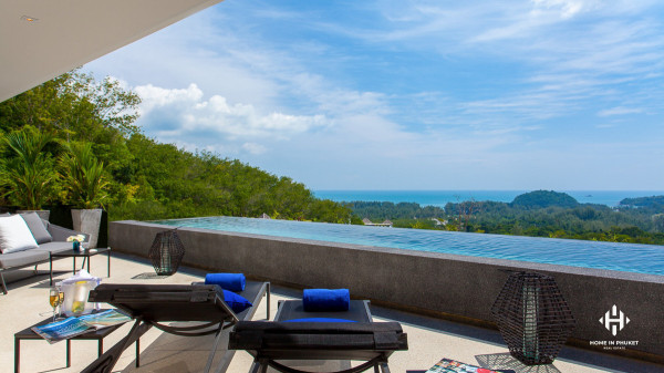 Spacious Sea View Pool Residences in Layan