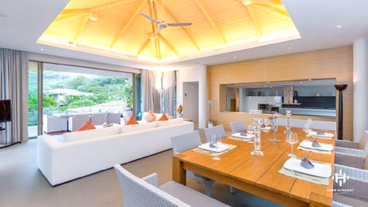 Luxurious 4-Bed Sea View Villa in Layan