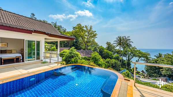 Tropical Pool Villa  with Kata Sea View