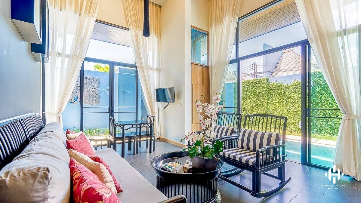 Asian 1-Bed Pool Villa in Cherngtalay