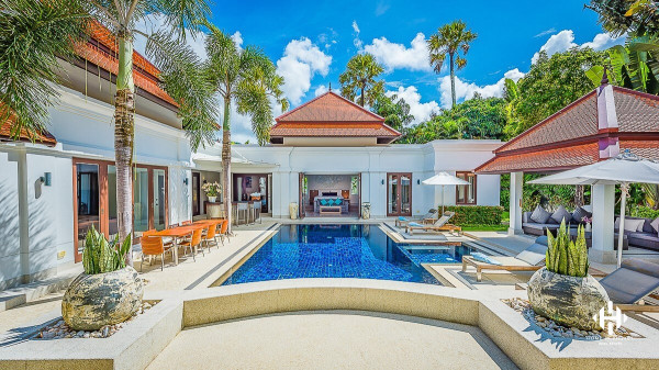 Peaceful Pool Villa at Cherng Talay
