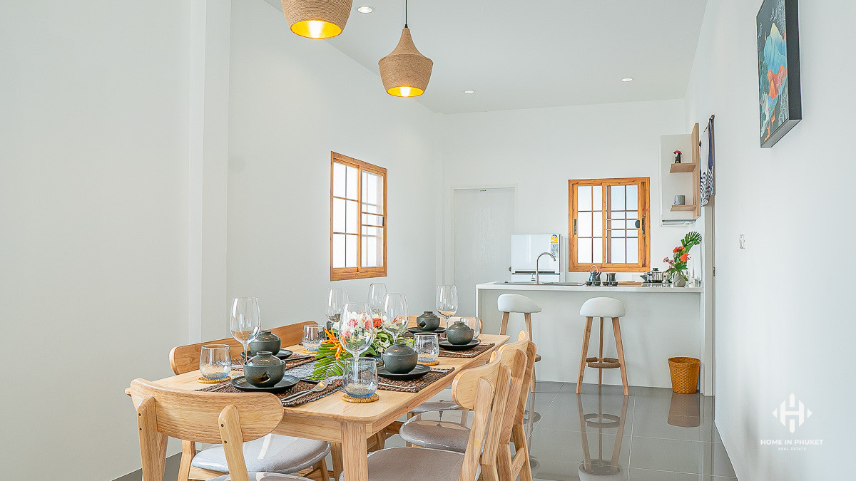 Japanese-Style 2-3 Bedroom Villas in Thalang
