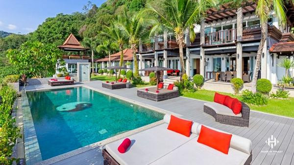 Stunning 7-Bed Thai-style Sea View Villa in Kalim