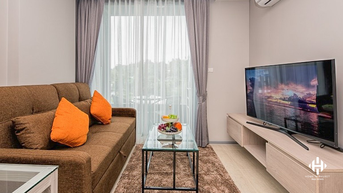 Fully-furnished 1-Bed Condo near Surin Beach