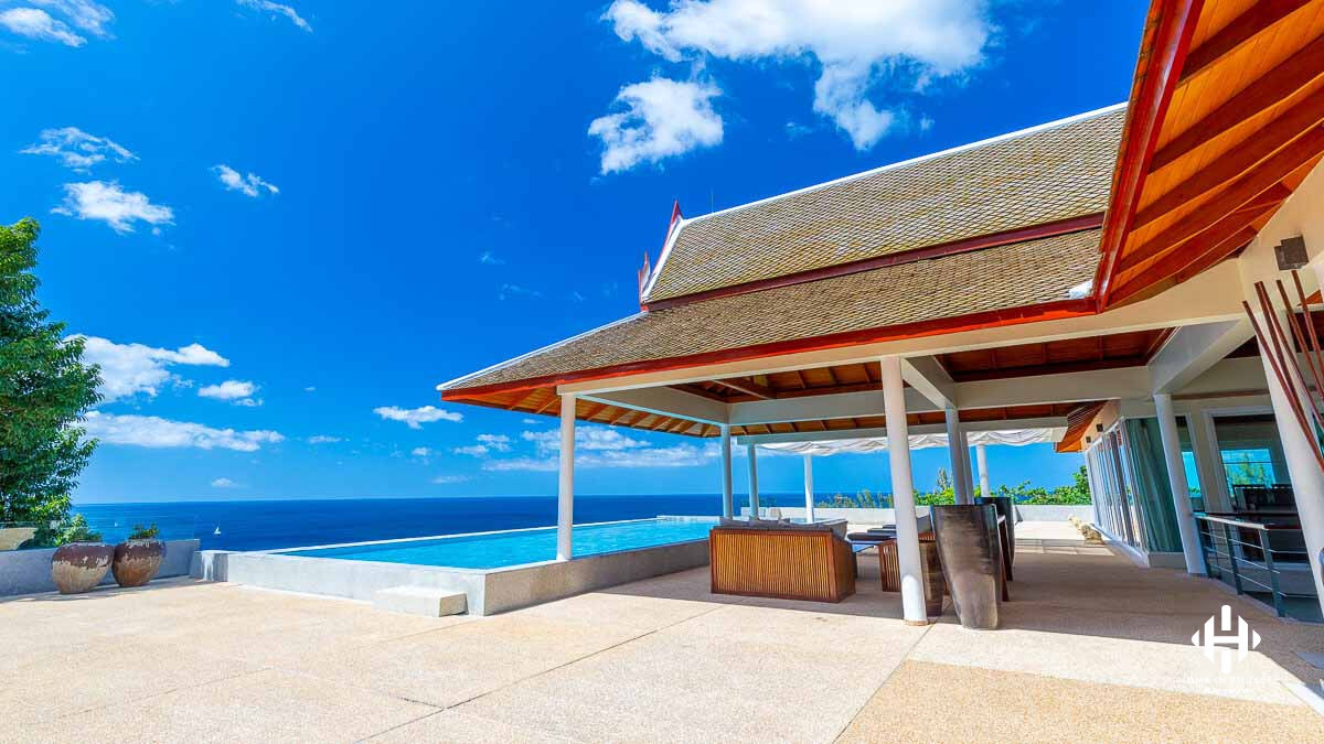 Magnificent Sea View Villa in Kamala