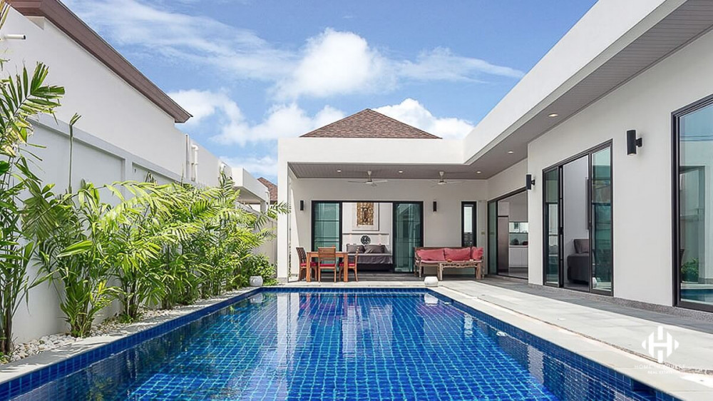 Boutique 3 Beds with large pool in Rawai