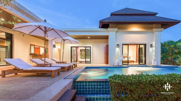 Asian-style Villas near Nai Harn Beach