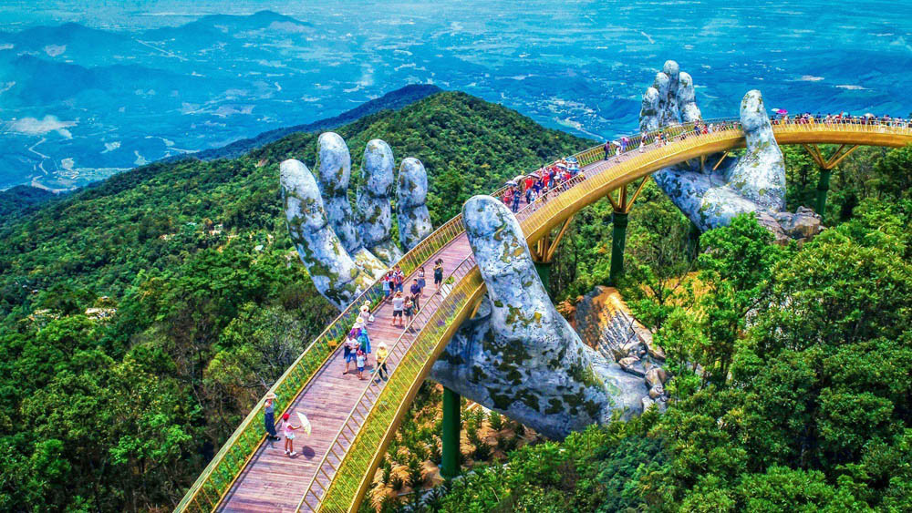 The Golden Bridge & Ba Na Hills