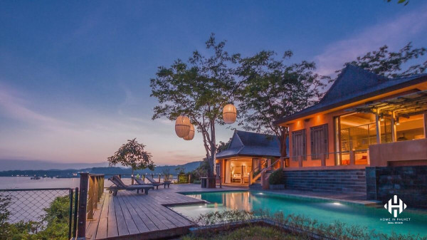 Tropical Waterfront Villa at Ao Makham