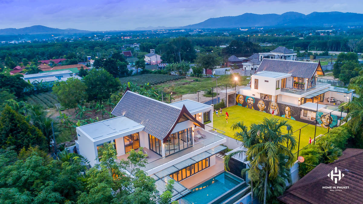 Two Villa Compound in Cherng Talay